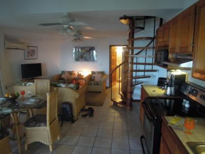 Our living room at Xanadu Resort in San Pedro Belize