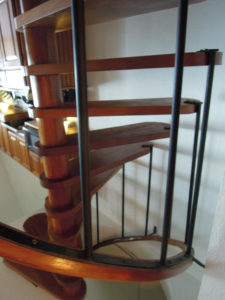 The stairs in our suite at Xanadu Resort in San Pedro Belize